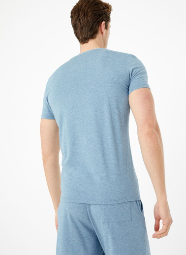 Marks & Spencer Supima® Supersoft Pamuk Karışımlı Atlet Mavi